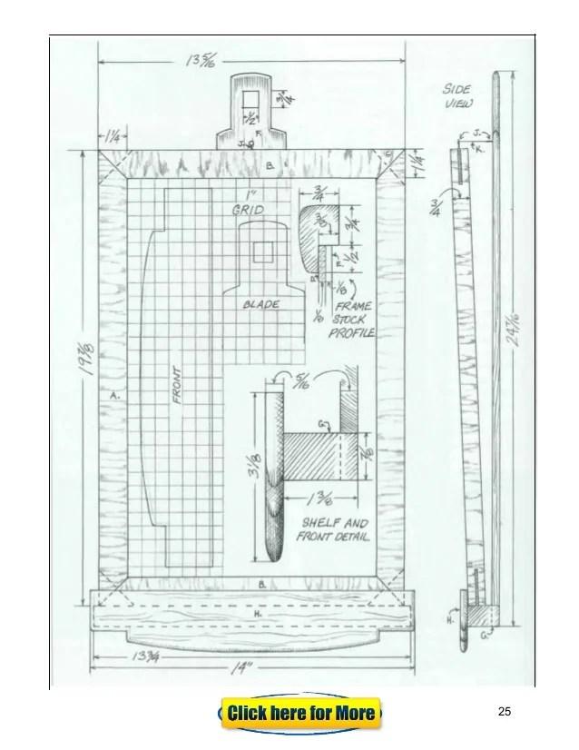 shadow box coffee table plans
