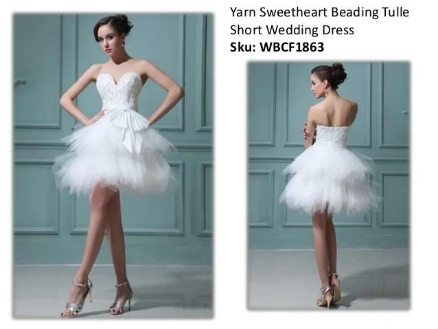 Short Wedding Dresses For Petite Girls In 2015