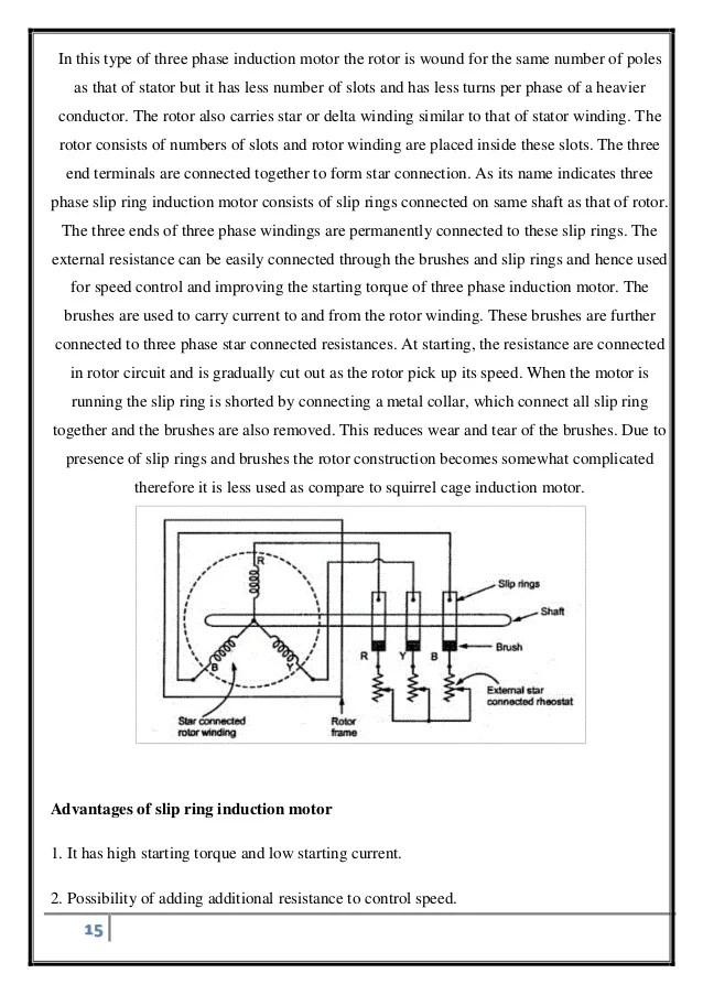 Single phasing of three phase induction motor
