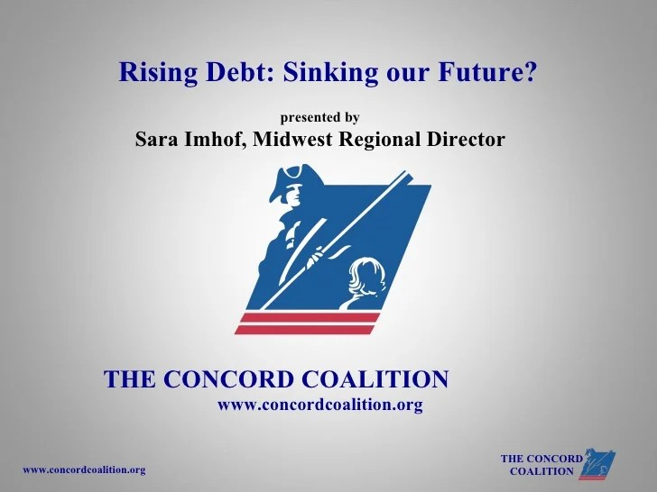 Rising Debt: Sinking our Future?