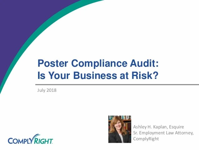 poster compliance audit is your