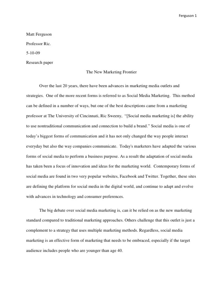 media markets and management essay Free social marketing papers social media metrics for marketing - introduction using social media to market an effective marketing management is.