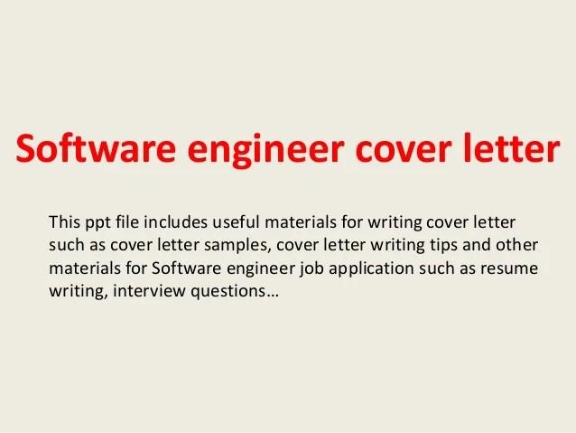 Cover Letter Samples Software Developer Create Professional