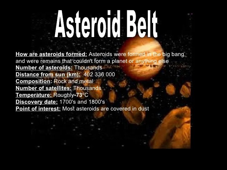 How are asteroids formed wehelpcheapessaydownloadweb