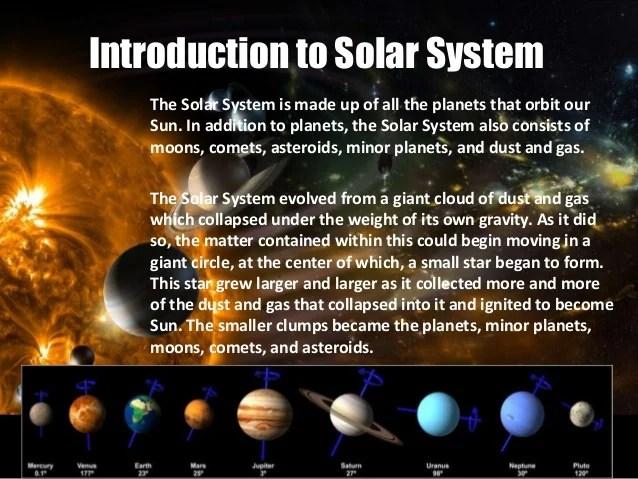 Solar system - a powerpoint presentation by Tanisha Pahwa ...