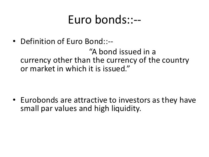 Bond Definition Personal Finance