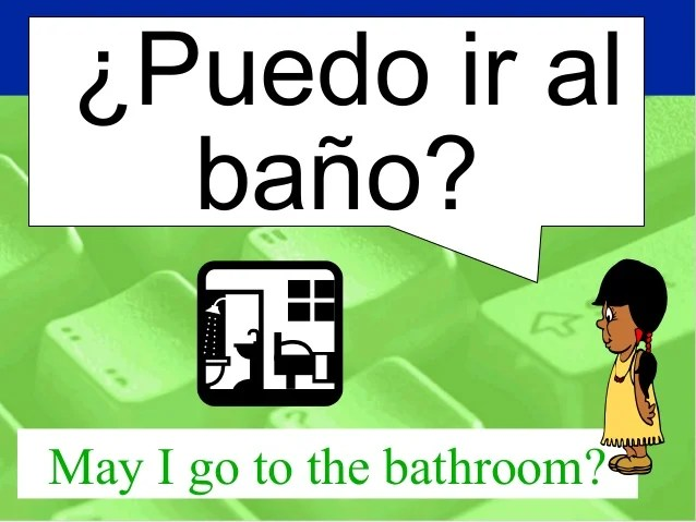 Image Result For How To Say Where Is The Bathroom In Spanish