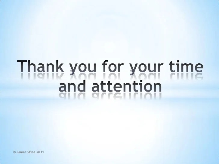 Thank You My Listening Powerpoint