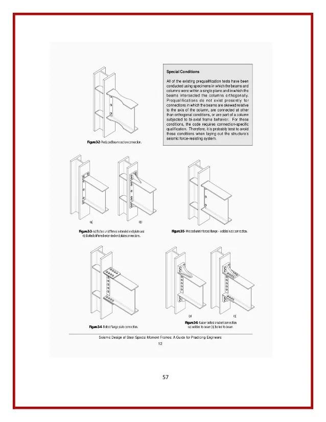 Steel Moment Resisting Frame Design   Frameswalls.org