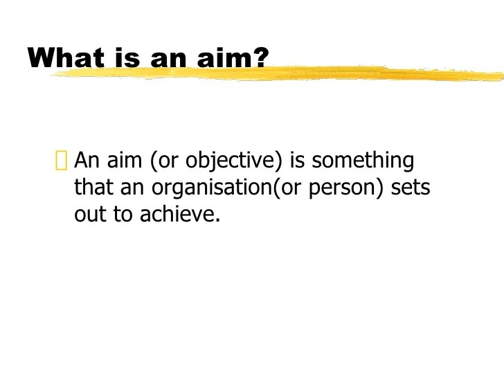 Standard Grade Business Management - Aims and Objectives ...