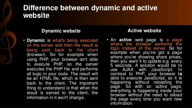 What is the difference between an active page and a ...