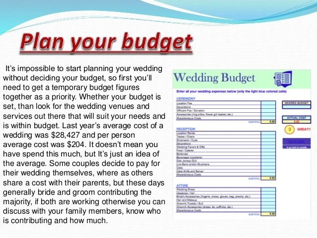 3 it s impossible to start planning your wedding