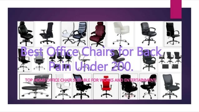 Top 10 Best Office Chair For Back