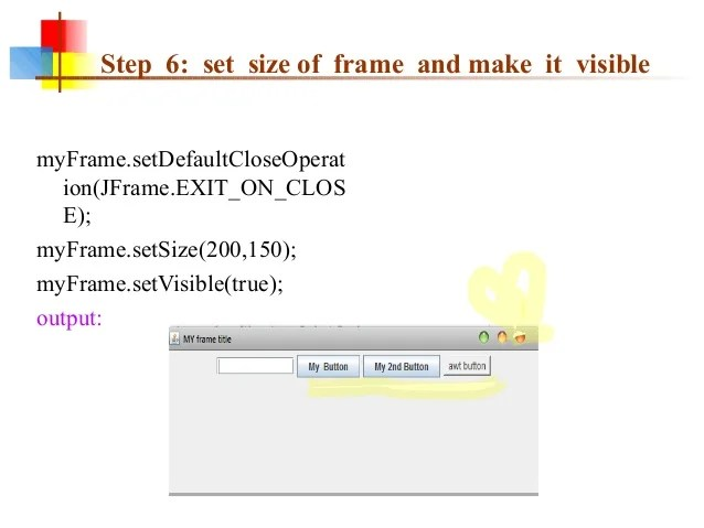 Default Layout Manager For Jframe Class In Java | Frameswalls.org