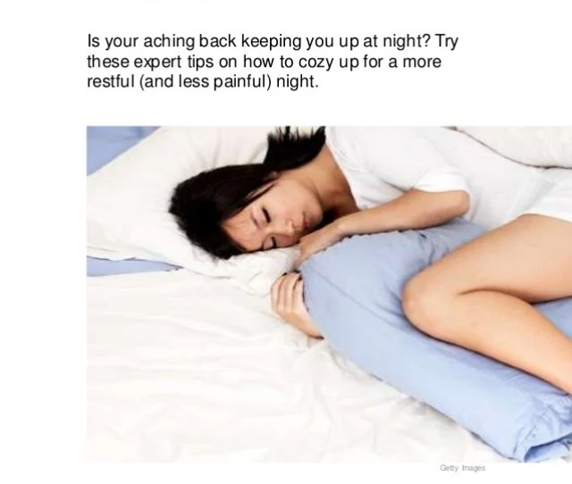 Switch Your Sleep Positions To Ease Back Pain  Ef  B By Diana Rodriguez  Ef  B Reviewedby Niya Jones