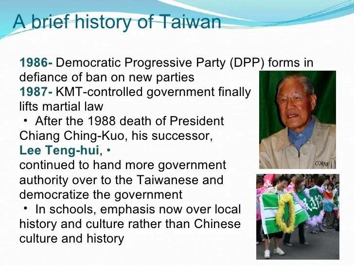 Taiwan And The Prc