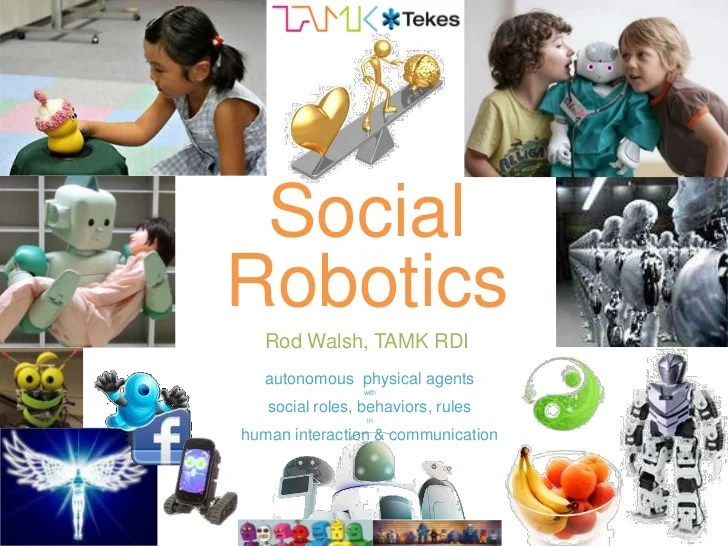 Social Robotics UX Design Brief (TAMK 4.Sept.2012)