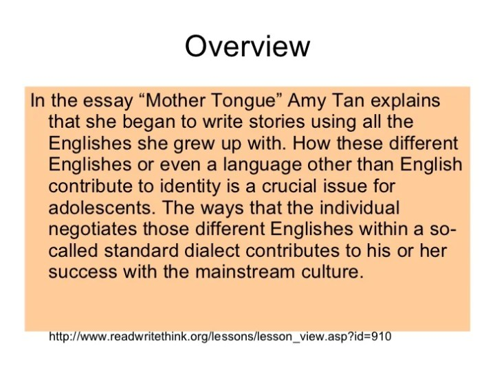 Malayalam Essay About Mother Tongue  Mistyhamel Mother Tongue Essay Poemsview Co Best Assignment Writing Service also Synthesis Essay Topics  Advanced English Essay