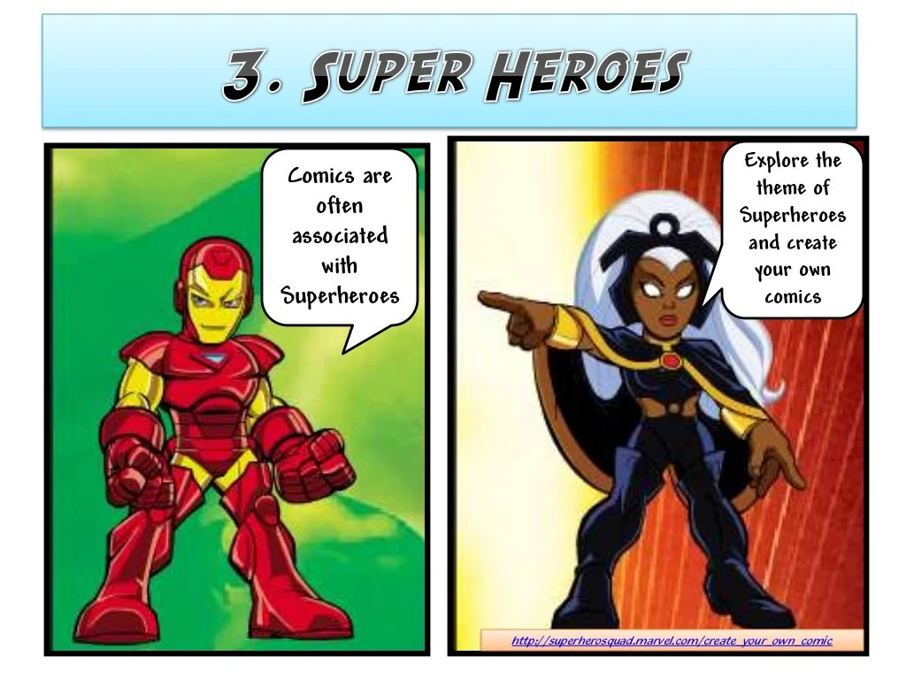 Create Your Own Superheroes To
