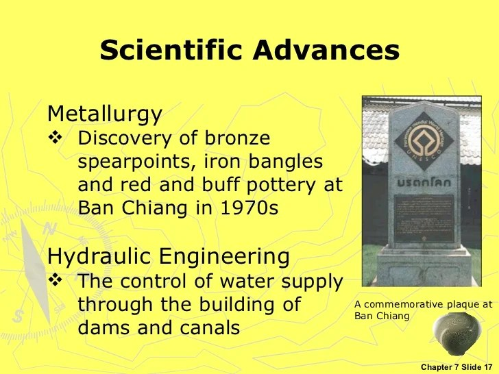 Chapter 7 - Scientific and artistic achievements