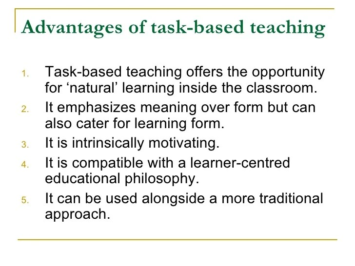 Task Based Language Teaching David Nunan Pdf