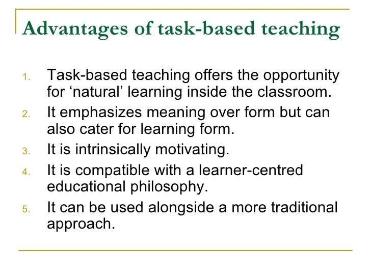 Task Based Language Teaching David Nunan Pdf
