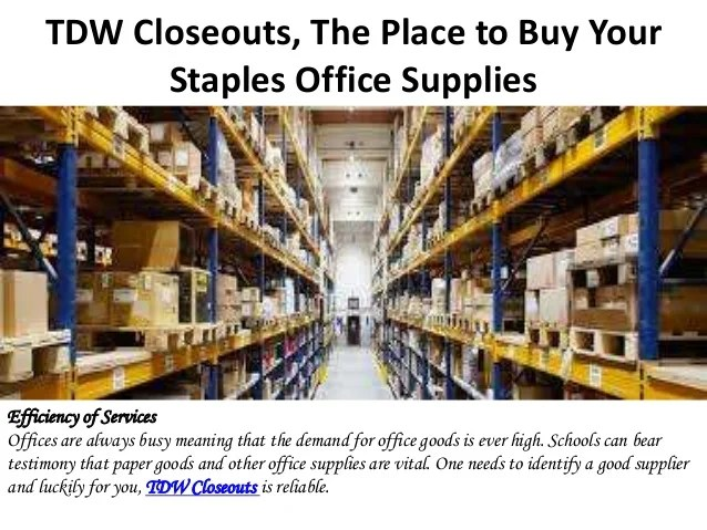Staples Store Liquidation