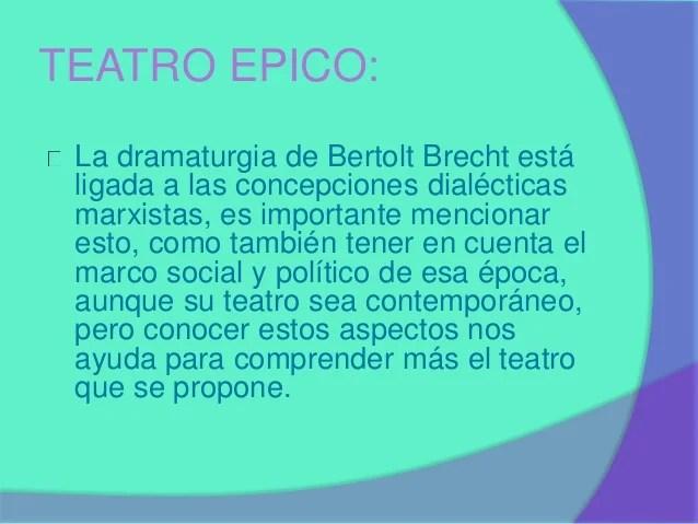 Teatro epico
