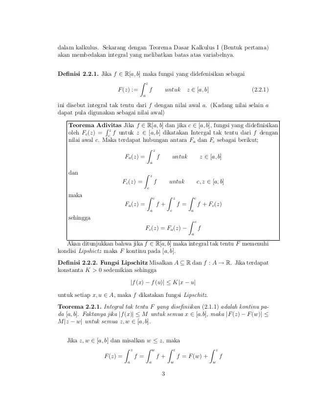 Pembuktian teorema dasar kalkulus 2 ini akan diselesaikan dengan teorema dasar kalkulus 1. Teorema Dasar Kalkulus