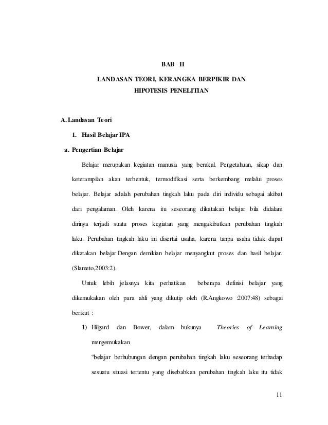 Contoh Bab 2 Landasan Teori
