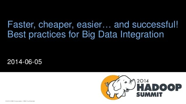 Faster, Cheaper, Easier... and Successful Best Practices ...
