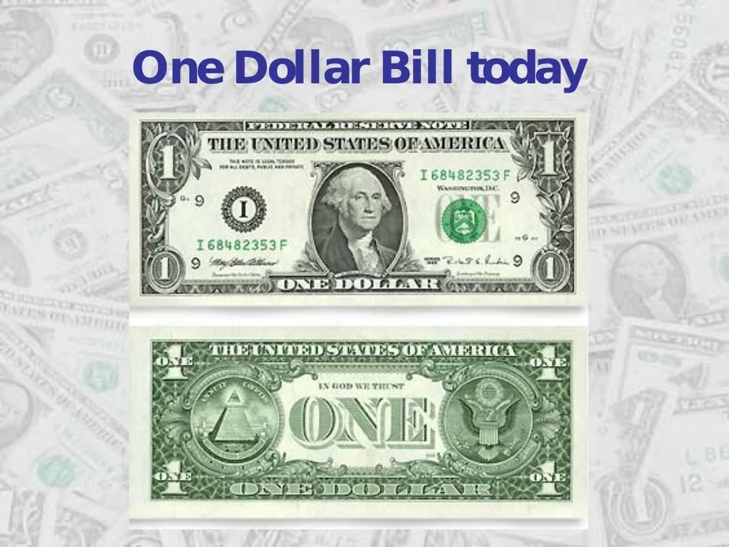 One Dollar Bill Today