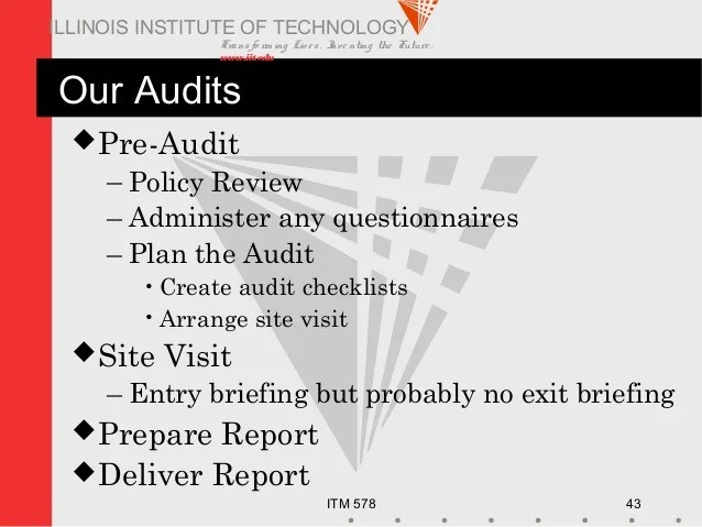 Information Security Audit