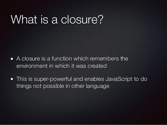The JavaScript You Wished You Knew