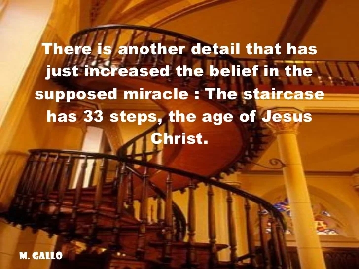 Loretto Chapel Santa Fe New Mexico The Mysterious Staircase | The Staircase Of Loretto Chapel | Original | Light | Weird | Stairway | Magical