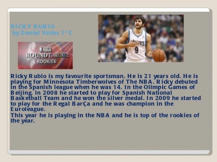 my favourite sportsman essay in english