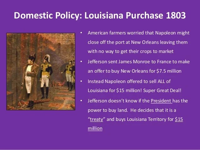 Louisiana New Port Purchase Orleans