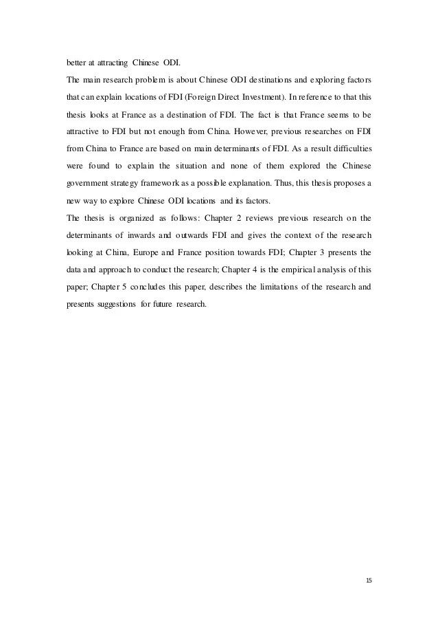 The strategic intent of China's outward foreign direct ...