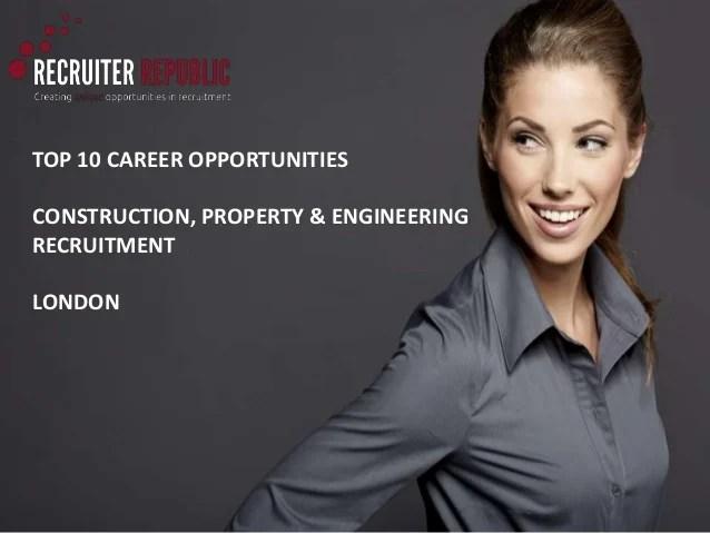 Top 10 Career Opportunities for senior recruiters in ...