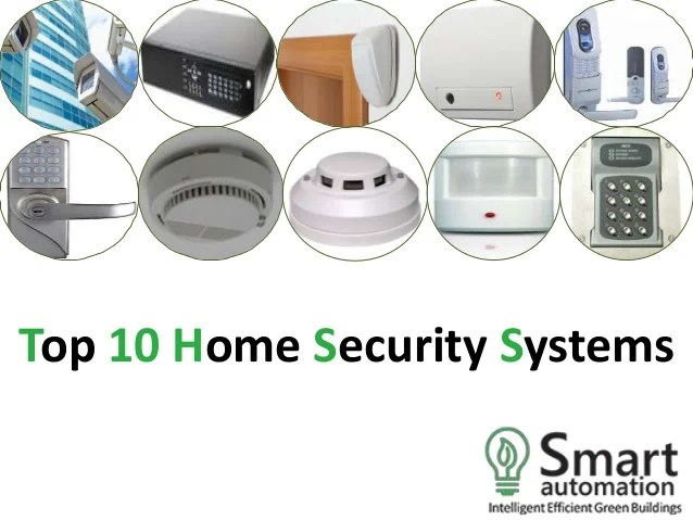 Top Ranked Home Security Systems