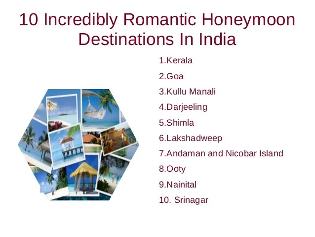 International Honeymoon Packages India