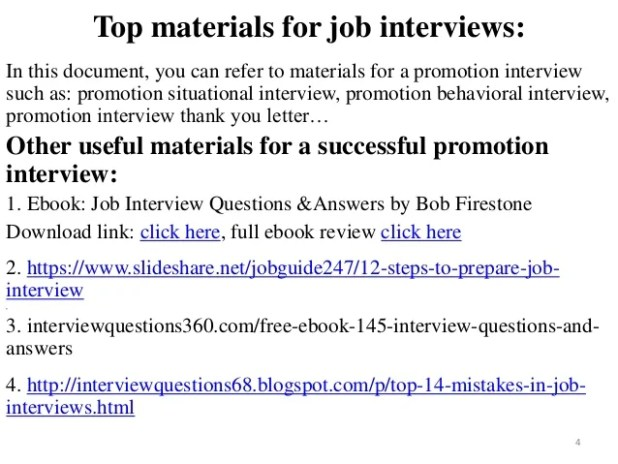 80 Promotion Interview Questions And Answers Ebook Pdf Free Download 4 638 Jpg Resize 618 464 Ssl 1