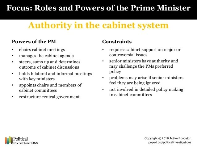 to what extent does the uk To what extent does the prime minister dominate the uk political system the prime minister is appointed by the queen but it is he or she who then appoints all the other members of the government this power to hire and fire extends to all the cabinet and to other ministers and it gives the prime minister substantial control over the careers of his or her part, mps and peers.