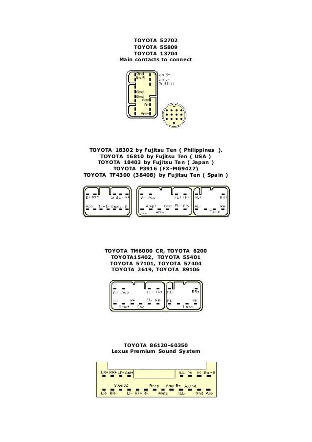 toyota 86120 35281 wiring diagram   33 wiring diagram