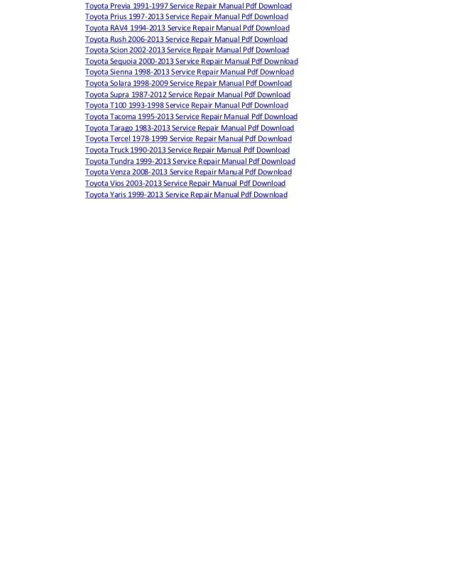 Toyota dyna electrical wiring diagram manual pdf download