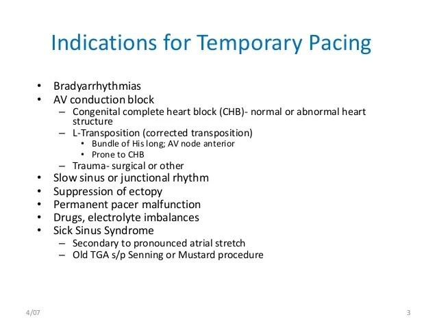 Temporary pacemaker toufiqur rahman