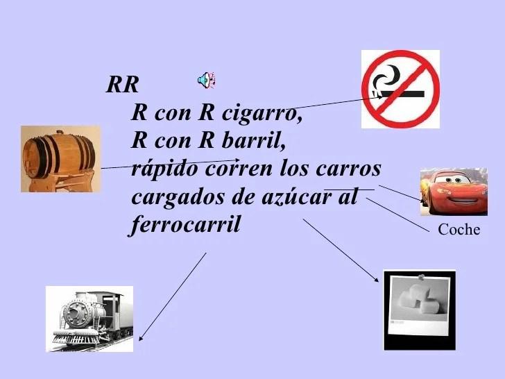 R Con R Cigarro De Trabalenguas