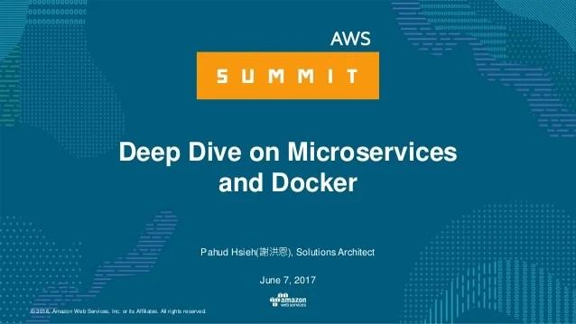 微服務與 Docker 深入探討