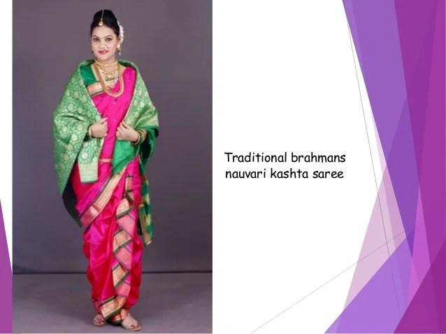 Nauvari Sari Maharashtra Traditional Textiles