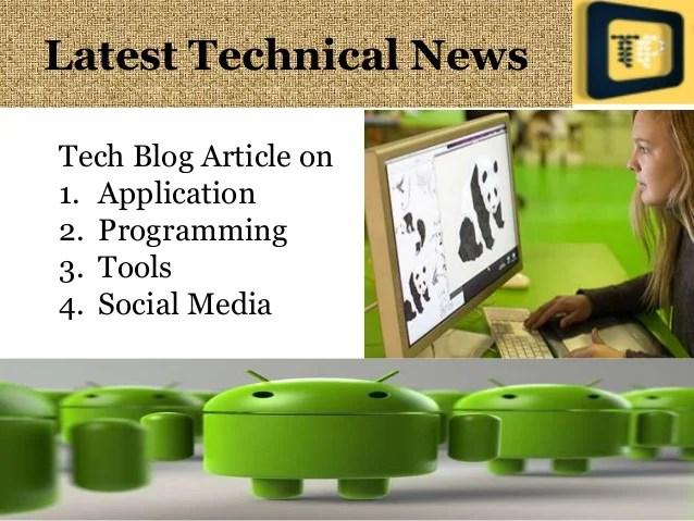 Latest News It Technology Articles